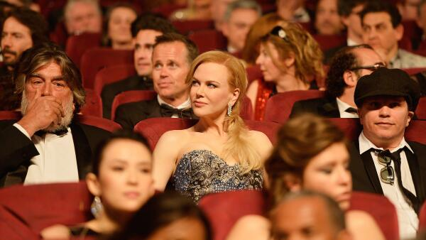 Nicole Kidman's diamond earrings stole the shine at this years Cannes Film Festival.