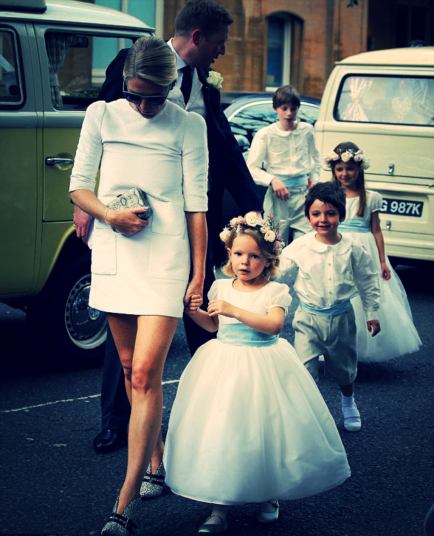 The London wedding was full of children in floral headpiece's. The cuteness is on another level.