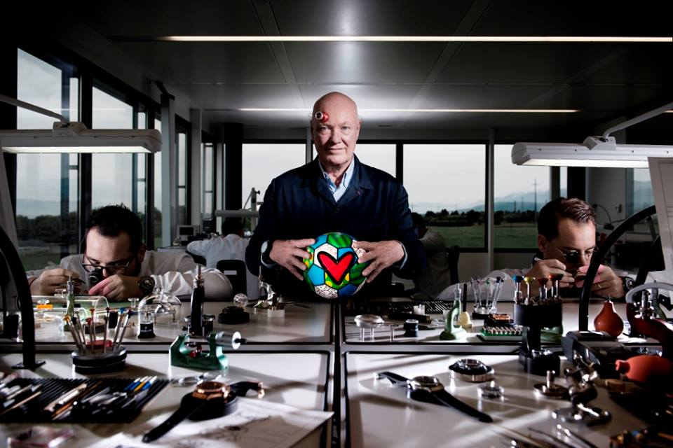 Jean-Claude Biver, Chairman of Hublot