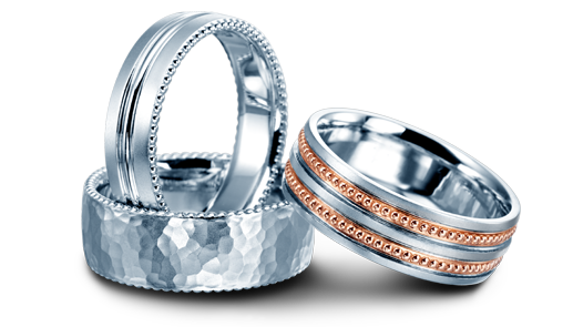 Mens Wedding Bands Geneva Seal