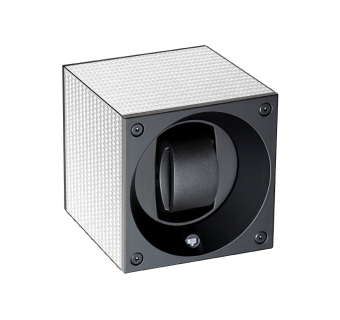 Single with white carbon fibre housing.
