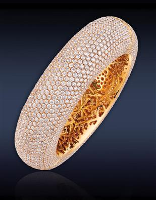 Grande Melange Yellow Gold Bangle 90713127