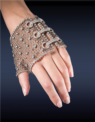 Diamond Mesh Glove 91327393