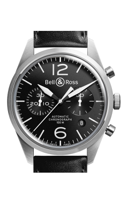 Bell and Ross Vintage BR Chronograph Watch BR126 Original Black CALL US: 312-944-3100