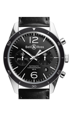 Bell and Ross Vintage BR Chronograph Watch BR126 Sport CALL US: 312-944-3100