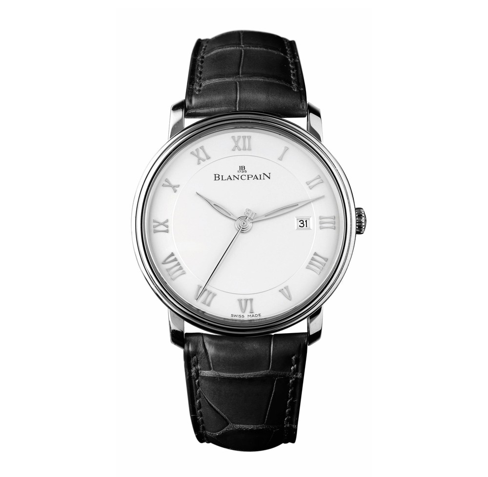 Villeret Ultra-Slim  Blancpain Watch   Reference: 6651-1127-55B   CALL US: 312-944-3100