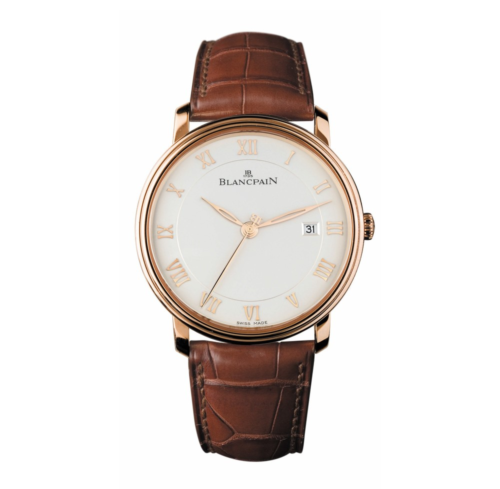 Villeret Ultra-Slim  Blancpain Watch   Reference: 6651-3642-55B   CALL US: 312-944-3100