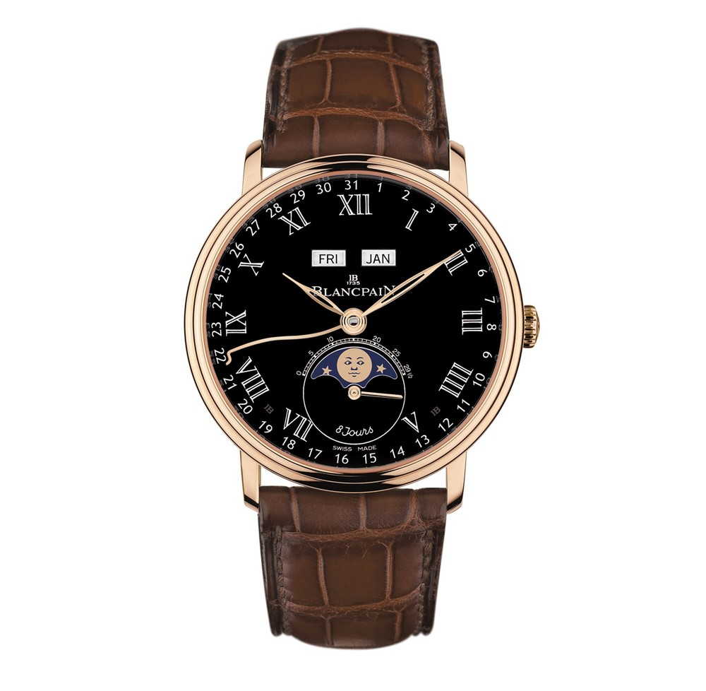 Villeret 8 Day Complete Calendar  Blancpain Watch   Reference: 6639-3637-55B   CALL US: 312-944-3100