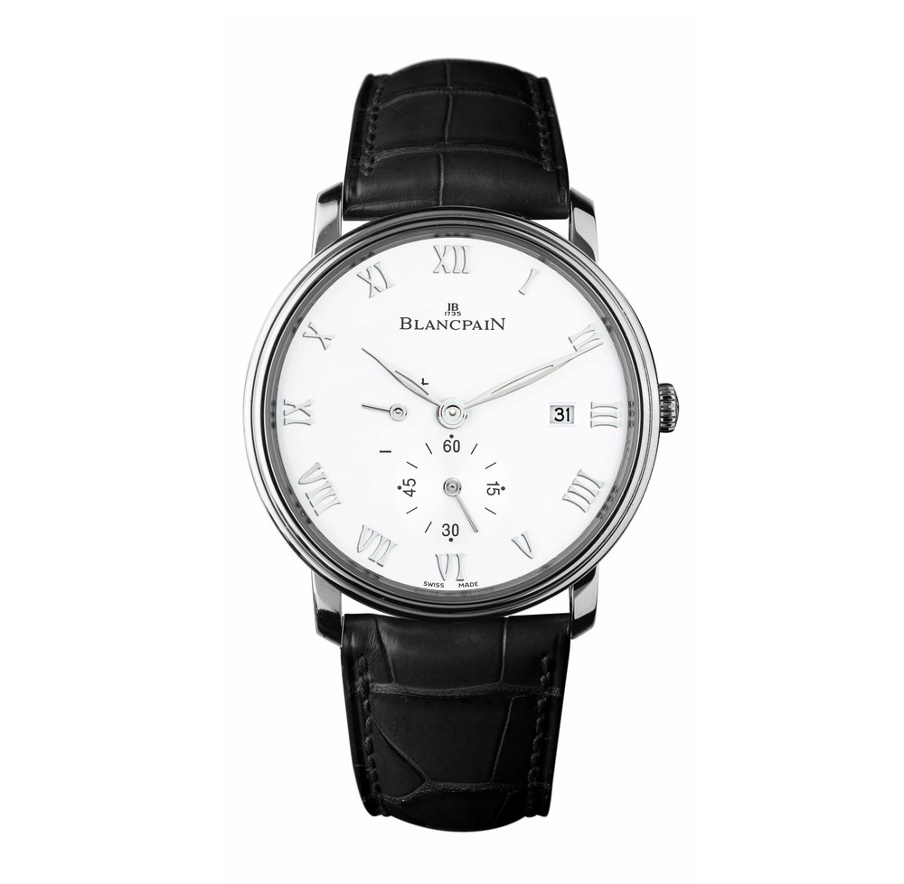 Villeret Ultra-Slim  Blancpain Watch   Reference: 6606-1127-55B   CALL US: 312-944-3100