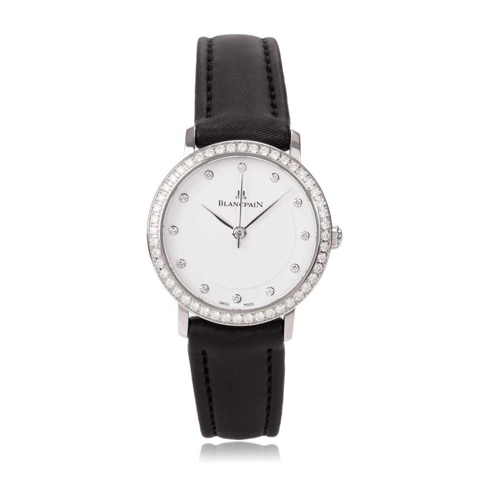 Villeret Ultra-Slim for Women  Blancpain Watch   Reference: 6102-4628-95A   CALL US: 312-944-3100
