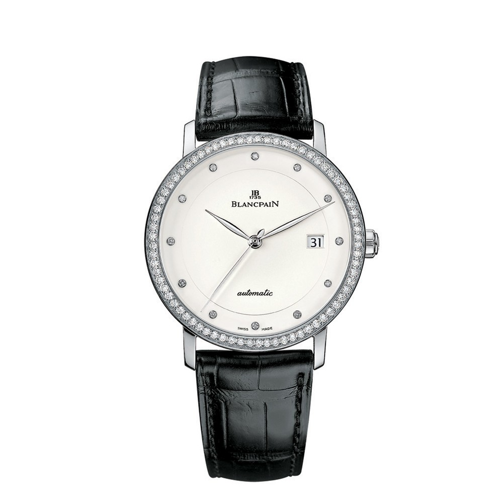 Villeret  Blancpain Watch   Reference: 6223-1987-55B   CALL US: 312-944-3100