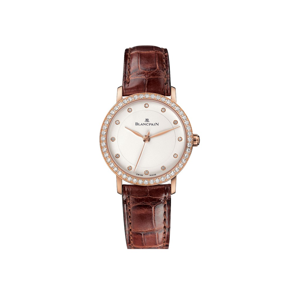 Villeret  Blancpain Watch   Reference: 6102-2987-55A   CALL US: 312-944-3100