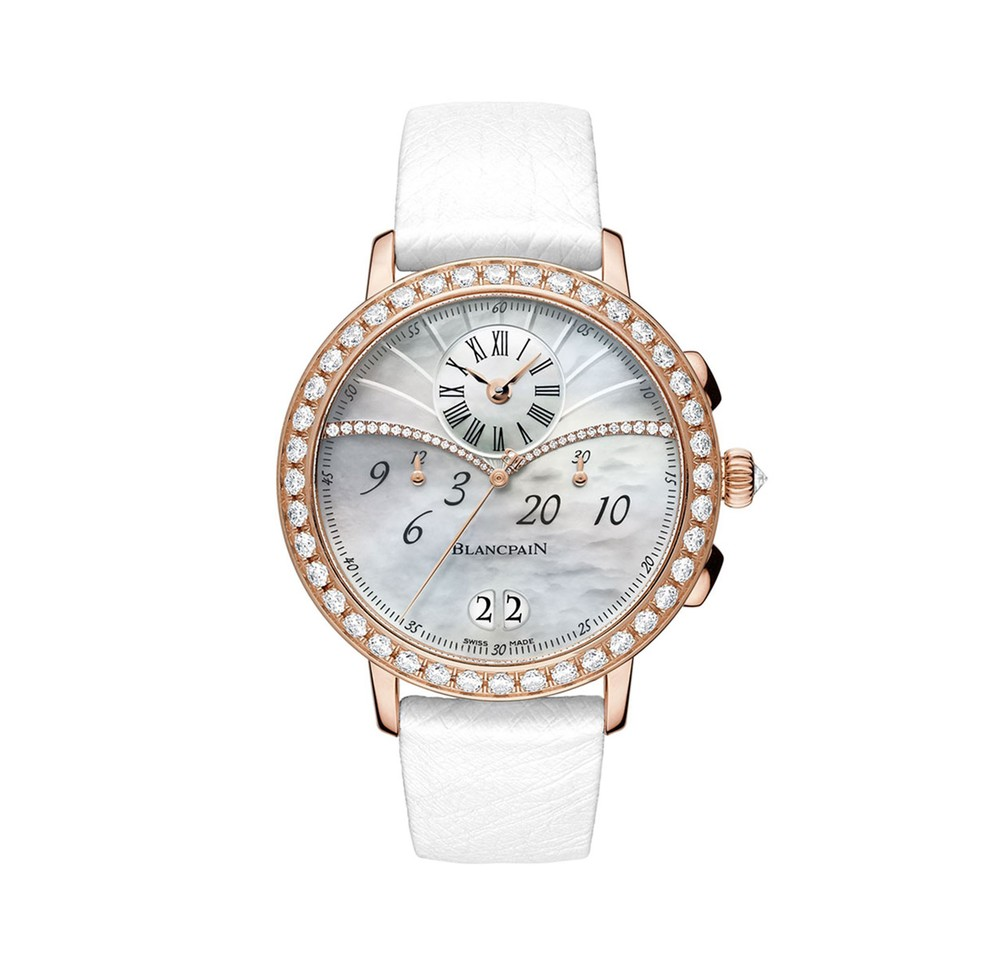 Women  Blancpain Watch   Reference: 3626-2954-58A   CALL US: 312-944-3100
