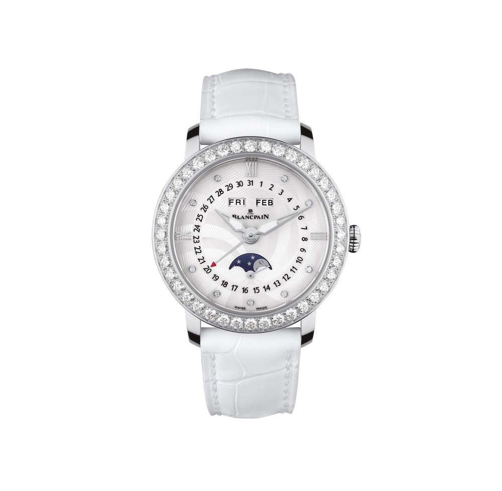 Women Blancpain Watch  Reference 3663A-4654-55B   CALL US: 312-944-3100