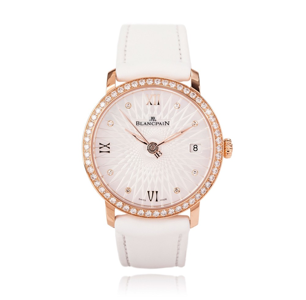 Women Ultra-Slim  Blancpain Watch   Reference: 6604-2944-55   CALL US: 312-944-3100