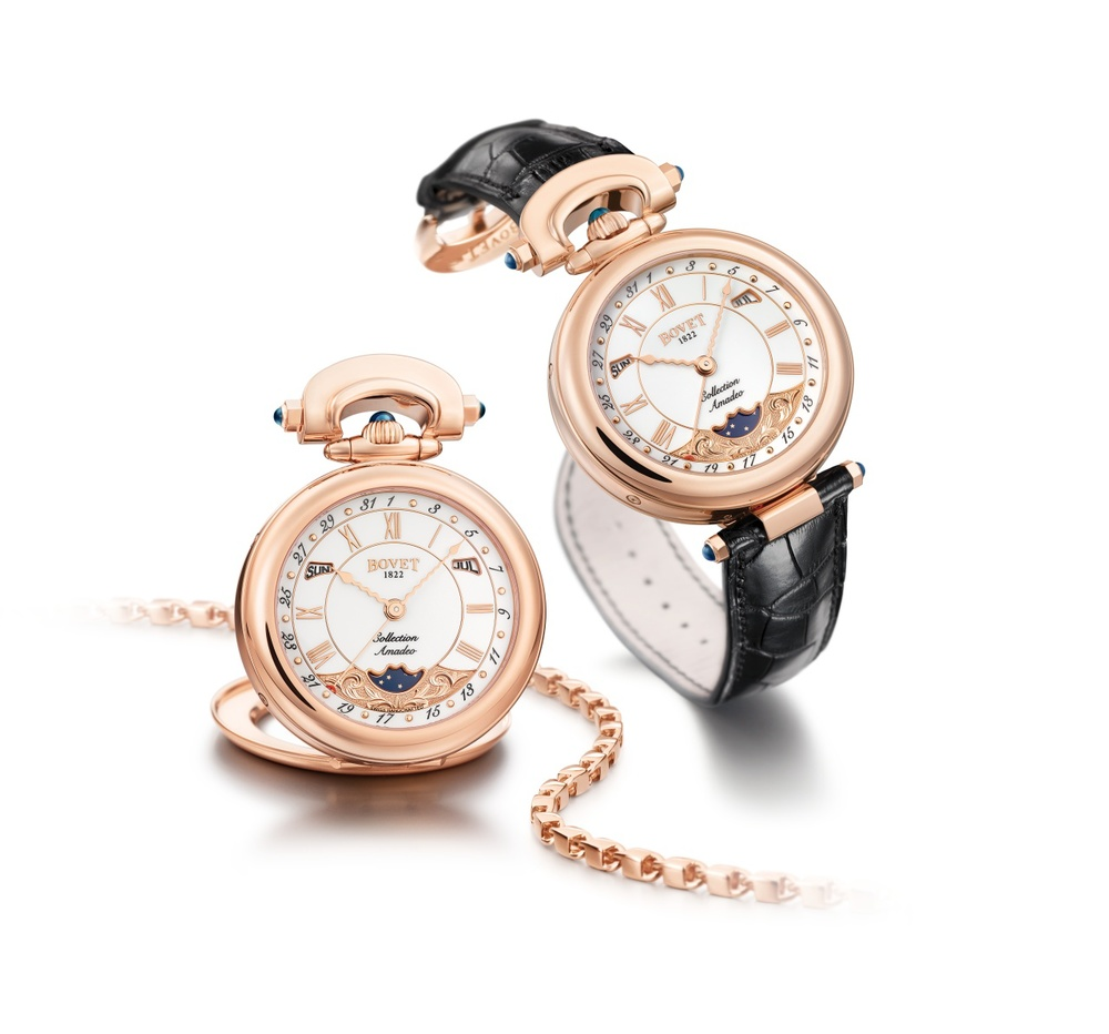 Bovet Watch Amadeo Fleurier Complications Ref. Nr. AQMP009 Call 312-944-3100 | For Availability