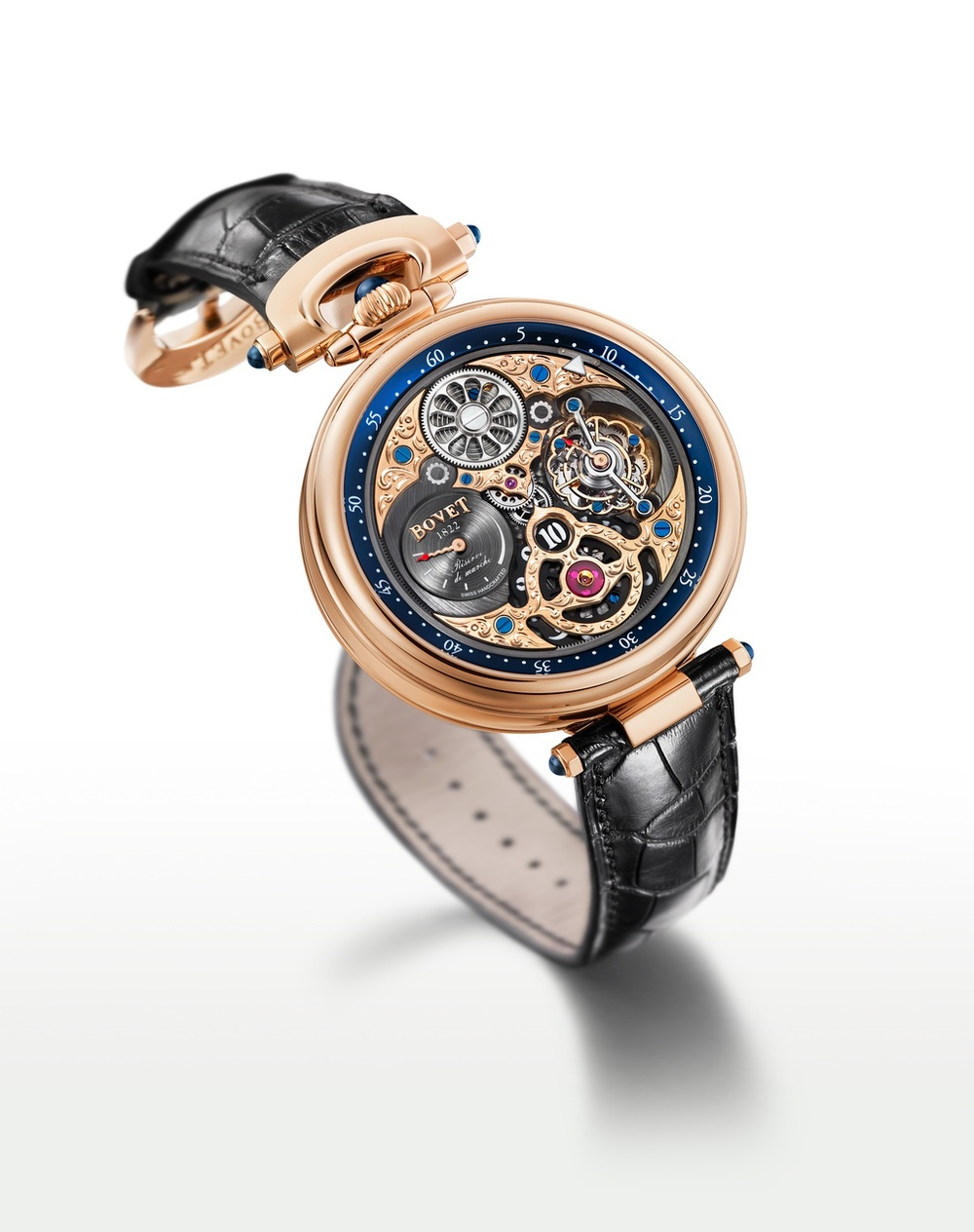 Bovet Watch Amadeo Fleurier Grandes Complications Ref. Nr. AIHS003 Call 312-944-3100 | For Availability