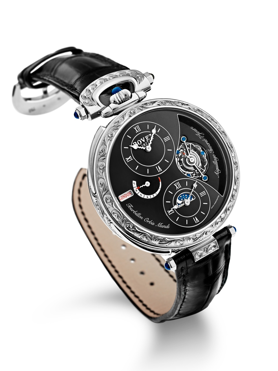 Bovet Watch Amadeo Fleurier Grandes Complications Ref. Nr. AIOM006-G1234 Call 312-944-3100 | For Availability