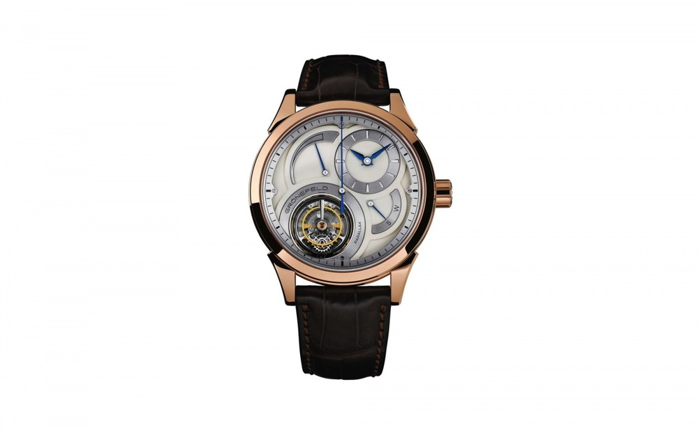 Tourbillon Watch Prize: Gronefeld Parallax Tourbillon