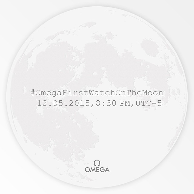 The Invitation to Geneva Seal: #OmegaFirstWatchOnTheMoon 12.05.2015, 8:30 PM, UTC-5