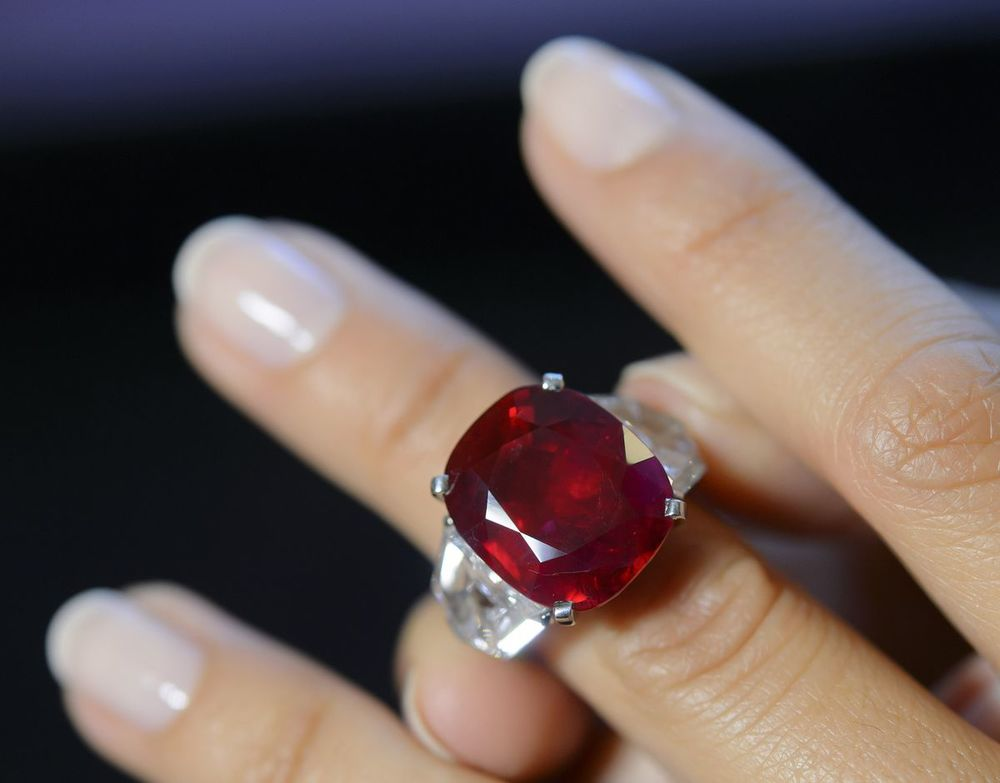 Sunrise Ruby Sold For A World Record Record Of 30 3