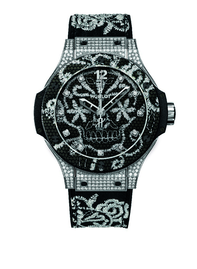 Hublot Big Bang Broderie watch Silver.