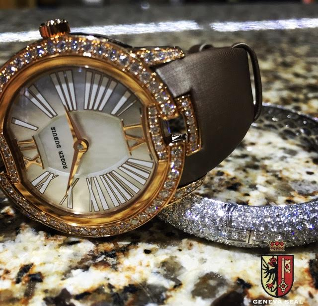 Roger Dubuis Velvet Collection at Geneva Seal Fine Jewelry ...