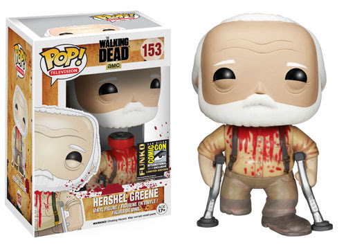 We know Comic Con is exciting, but don't lose your head over it, Hershel! This Hershel figure has a removable head!