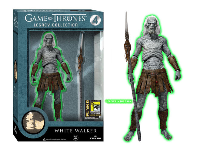 We didn't want the White Walkers to sneak up on you… so we made them glow!