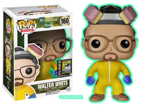 Did something go wrong in the lab? Walt is GLOWING!