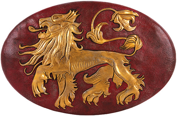 Game of Thrones: Convention Exclusive Lannister Shield Wall Plaque