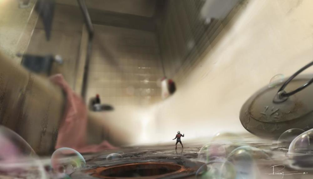 New Ant-man concept art! Image via: Comicbookmovie.com