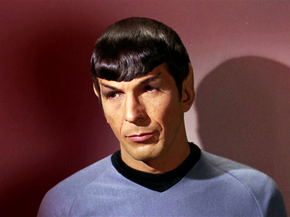 Leonard Nimoy as Spock   Image Source: Google Images