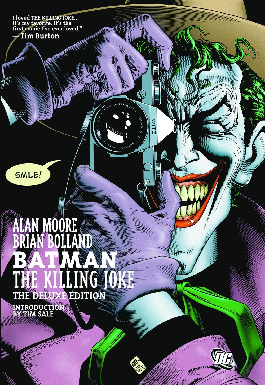 Alan Moore's Batman The Killing Joke cover. Image via: previewsworld.com