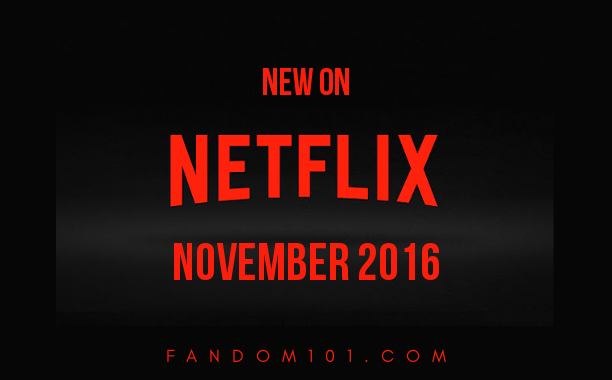 Here's Everything That's Coming to Netflix In November