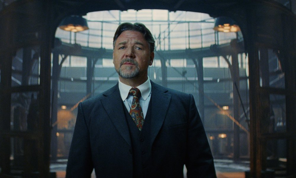 Mysterious kingpin … Russell Crowe as Dr Jekyll in The Mummy. Photograph: Universal Pictures