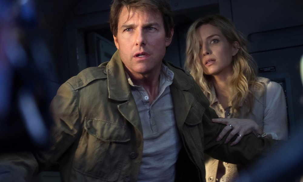 The dark side … Tom Cruise and Annabelle Wallis in The Mummy. Photograph: Universal Pictures
