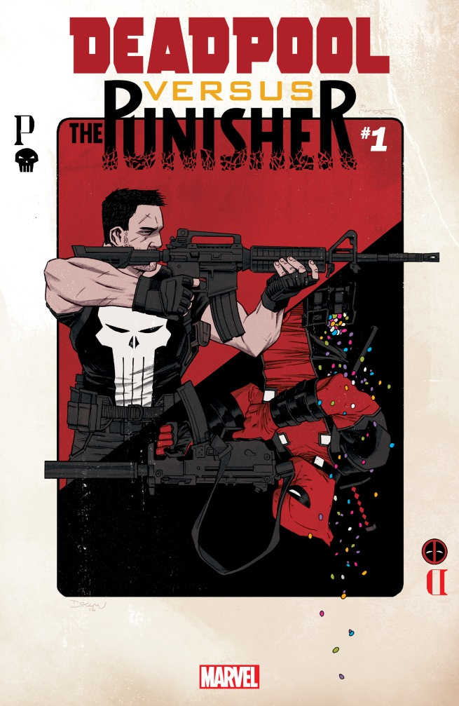 Deadpool Vs. The Punisher  cover (click for full size image)