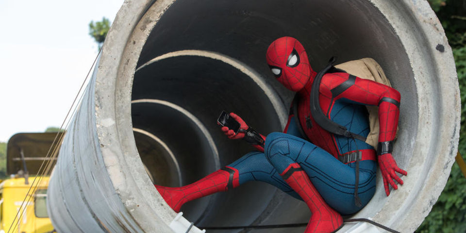 Besides that sneak peek released during last night's MTV Awards, some new promo art for Spider-Man: Homecoming has made its merry way online, along with a new TV spot. -