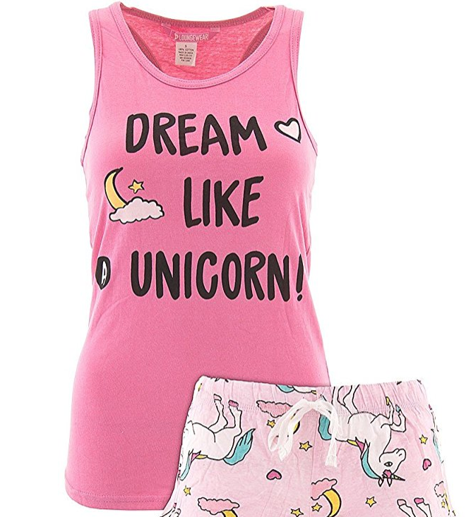 22. Dream Like a Unicorn Pajama Set - $13.99