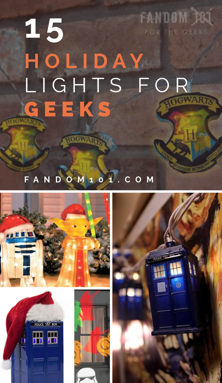 15 Holiday Lights for Geeks