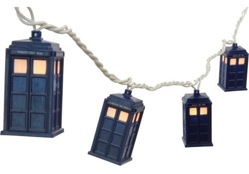 6. Doctor Who TARDIS String Lights - $28.95