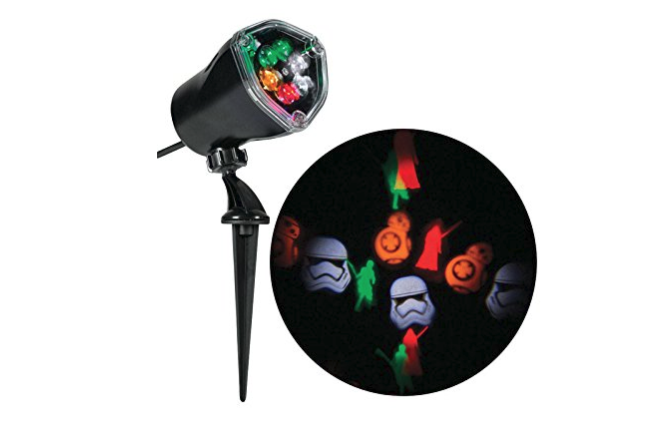 7. Whirl-a-motion Christmas Led Star Wars Light Show Projector - $29.30