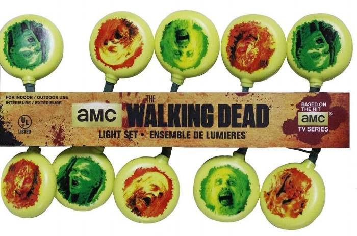 12. 10-Light Walking Dead Light Set - $10.61