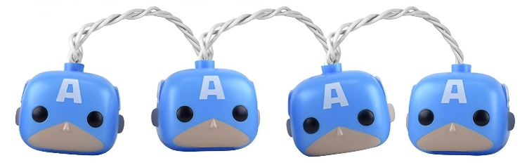 13. Funko POP Marvel Captain America Party Light - $19.05