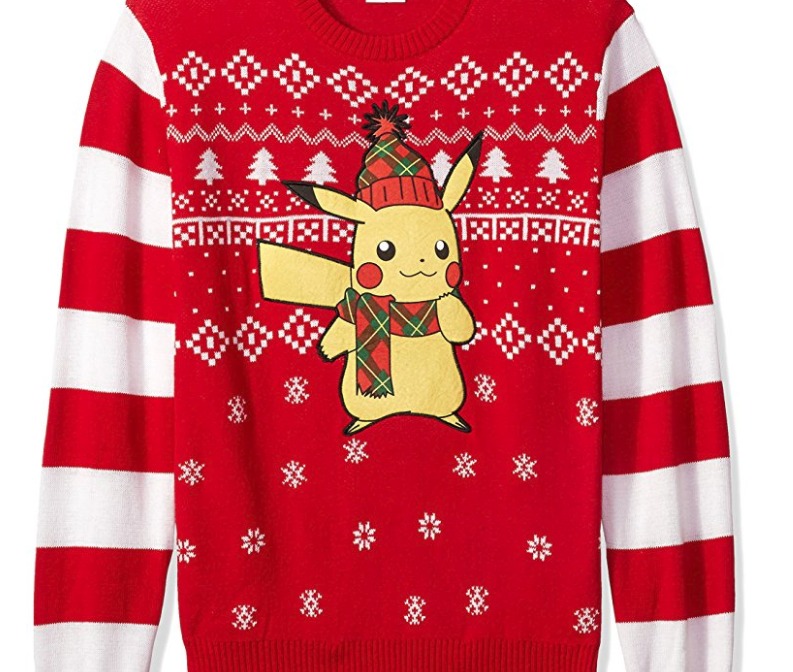 9. Pokemon Ugly Christmas Sweater - $20.99