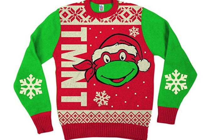 21. Teenage Mutant Ninja Turtles Ugly Christmas Sweater - $29.95