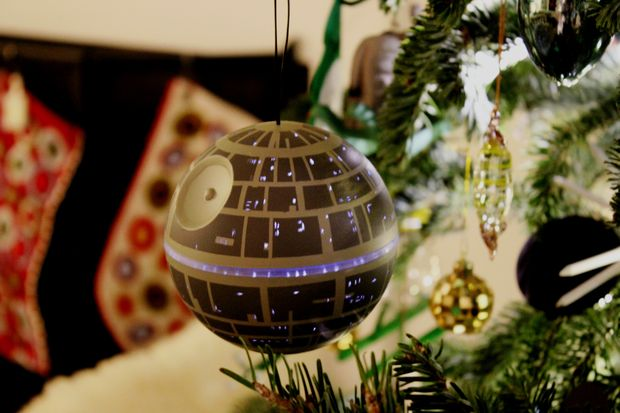 (Harder) DIY Death Star Ornament