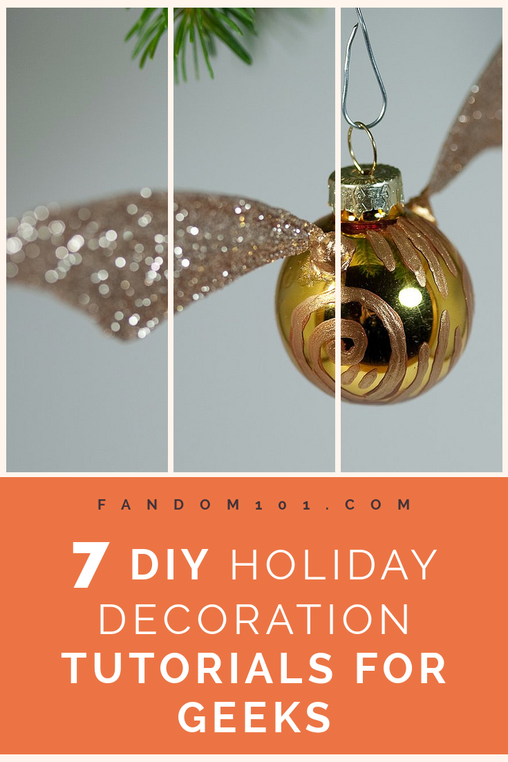 7 DIY Holiday Decoration Tutorials for Geeks