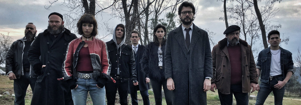Why 'la Casa De Papel' Is the Only Show on Netflix You Should Be Watching Right Now - The Team